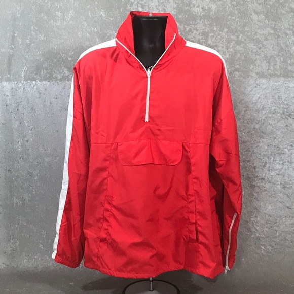 MNML Other - MNML OPEN SIDES PULLOVER TRACK JACKET